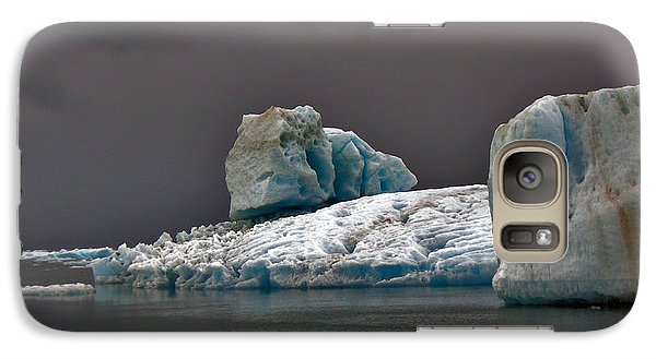 Galaxy Case featuring the photograph Icebergs Of Leconte Glacier by Cynthia Lagoudakis