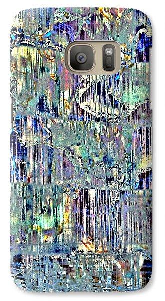 Galaxy Case featuring the digital art Icebreaker-no1 by Darla Wood