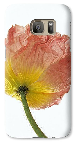 Galaxy Case featuring the photograph Iceland Poppy 1 by Susan Rovira