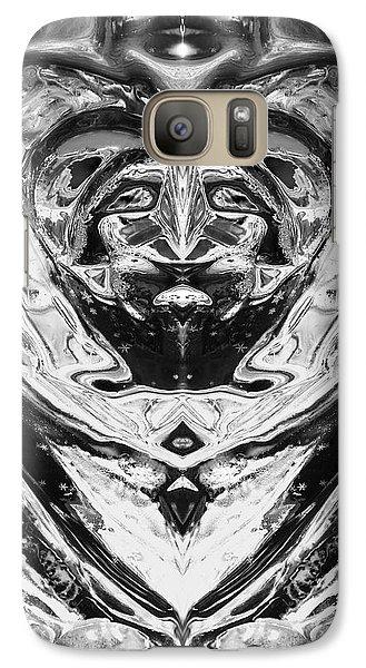 Galaxy Case featuring the photograph Iceman Cometh by John  Bartosik