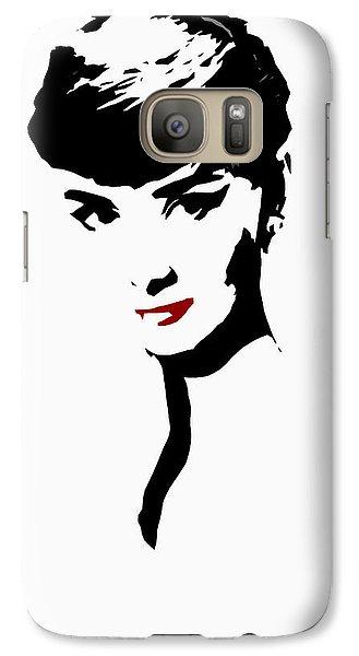 Icon Of Beauty Galaxy S7 Case by Steve K