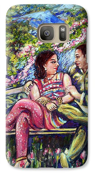 Galaxy Case featuring the painting If I Will Get Your Love by Harsh Malik