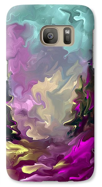 Galaxy Case featuring the painting If Only I Could by Steven Lebron Langston