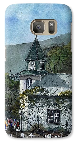 Galaxy Case featuring the painting Iglesia San Patricio by Tim Oliver