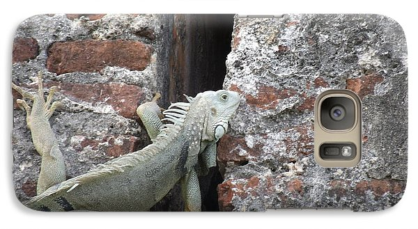 Galaxy Case featuring the photograph Iguana by David S Reynolds
