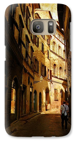 Galaxy Case featuring the photograph Il Turista by Micki Findlay
