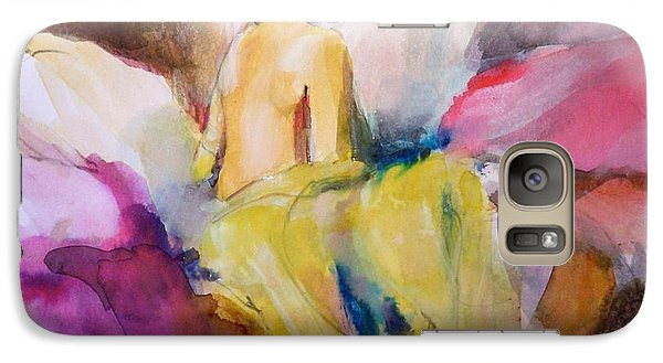 Galaxy Case featuring the painting Ilda From Innsbruck by Ed  Heaton