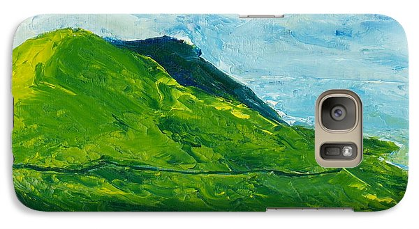 Galaxy Case featuring the painting I'll Take The High Road by Conor Murphy