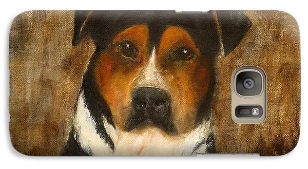 Galaxy Case featuring the painting I'll Wait For You by Barbie Batson