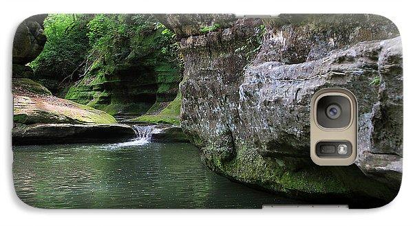 Galaxy Case featuring the photograph Illinois Canyon May 2014 by Paula Guttilla