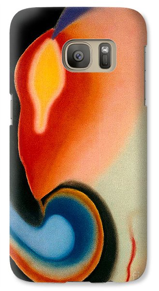 Galaxy Case featuring the pastel Illumination by Christine Perry