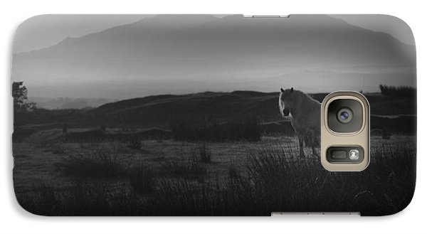Galaxy Case featuring the photograph Illumination Isle Of Skye by Sally Ross