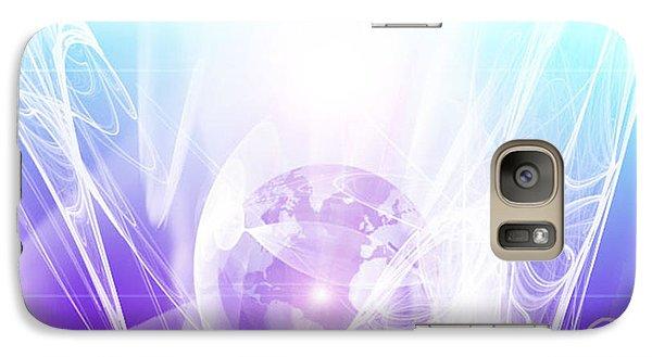 Galaxy Case featuring the digital art Illumination by Ute Posegga-Rudel