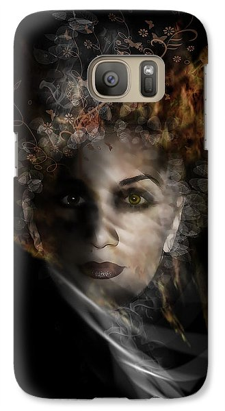 Galaxy Case featuring the digital art Illusory by Katy Breen