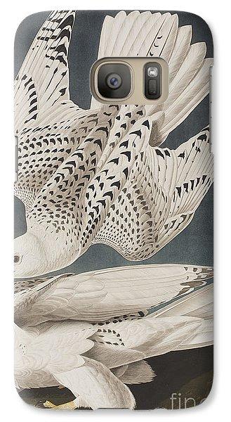 Illustration From Birds Of America Galaxy S7 Case by John James Audubon