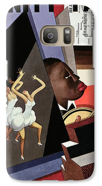 Illustration Of Harlem Entertainers Galaxy S7 Case by William Bolin