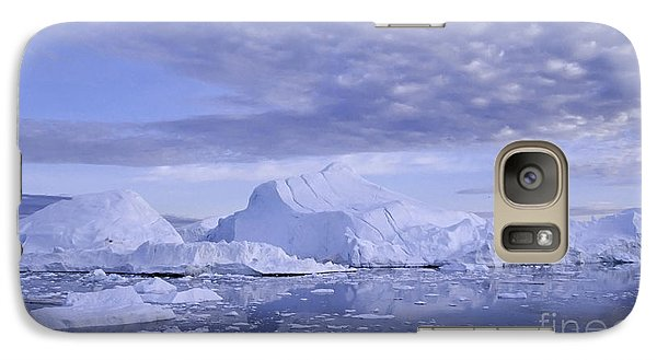 Galaxy Case featuring the photograph Ilulissat Icefjord Greenland by Rudi Prott