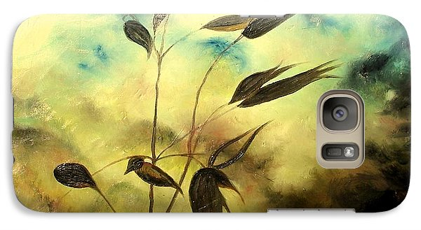Galaxy Case featuring the painting Ilusion by Sorin Apostolescu