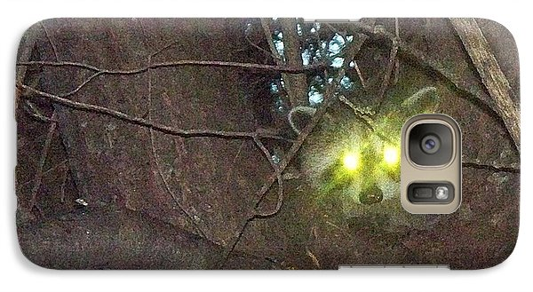 Galaxy Case featuring the photograph I'm Hiding In My Tree by Joy Nichols