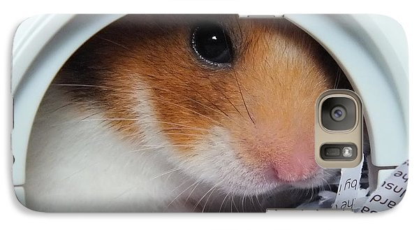 Galaxy Case featuring the photograph I'm Keeping My Eye On You by Vicki Spindler