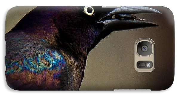 Galaxy Case featuring the photograph I'm Not Done Eating by Robert L Jackson
