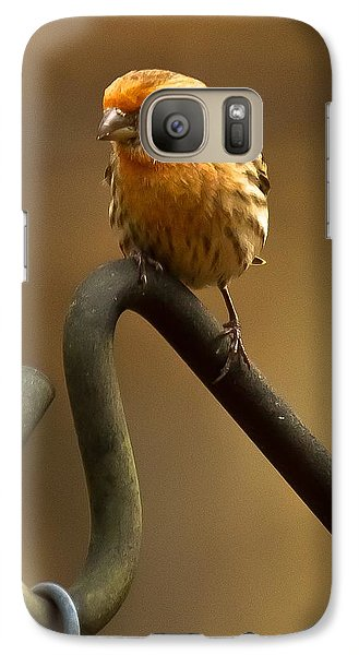 Galaxy Case featuring the photograph I'm Orange by Robert L Jackson