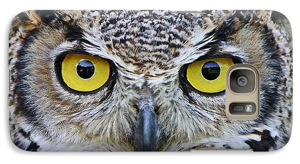 Galaxy Case featuring the photograph I'm Watching You by Heather King