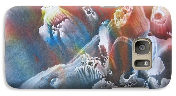 Galaxy Case featuring the painting Imagination 1 by Vesna Martinjak