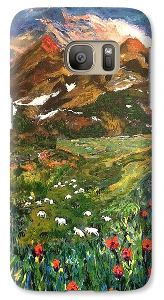 Galaxy Case featuring the painting Imagine by Belinda Low