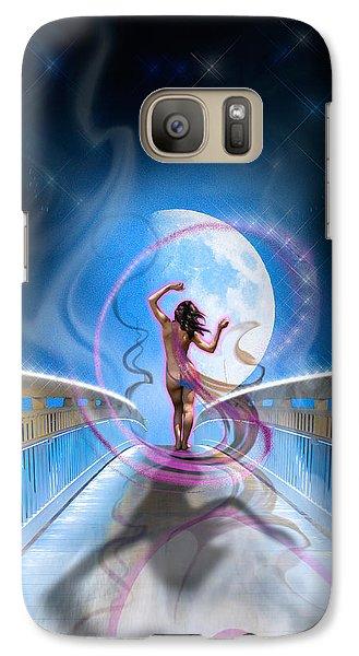 Galaxy Case featuring the photograph Imagine by Glenn Feron
