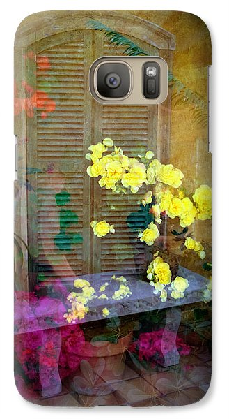 Galaxy Case featuring the photograph Imagine by Penny Lisowski