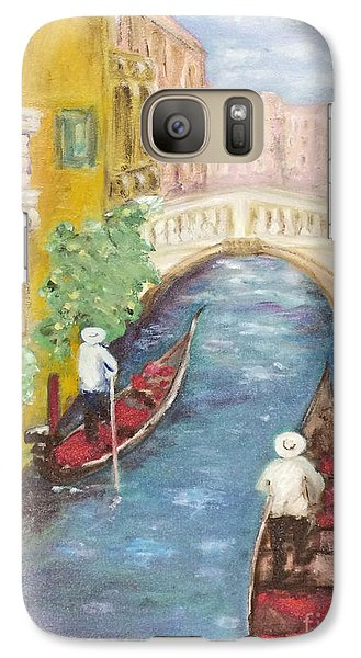 Galaxy Case featuring the painting Immortal Venice by Barbara Anna Knauf