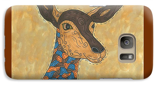 Galaxy Case featuring the painting Impala Antelope by Susie Weber