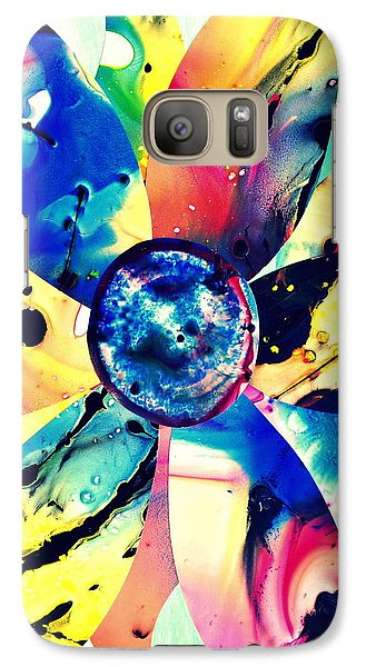 Galaxy Case featuring the digital art Imperfection IIi by Christine Ricker Brandt