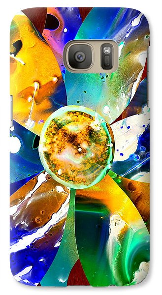 Galaxy Case featuring the digital art Imperfection Iv by Christine Ricker Brandt