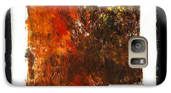 Galaxy Case featuring the painting Imperfection by Ron Richard Baviello