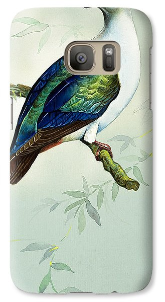 Imperial Fruit Pigeon Galaxy Case by Bert Illoss