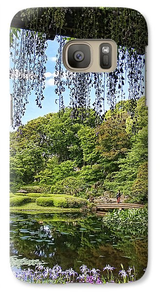 Galaxy Case featuring the photograph Imperial Gardens by Kim Andelkovic