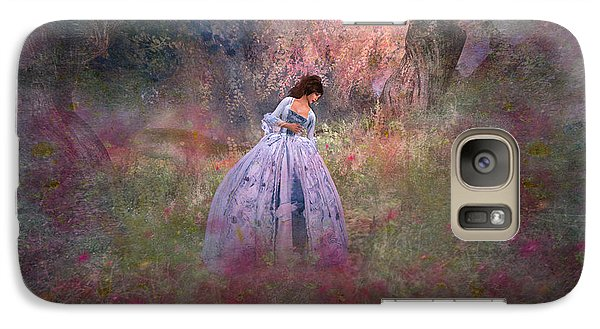 Galaxy Case featuring the digital art Impression by Kylie Sabra