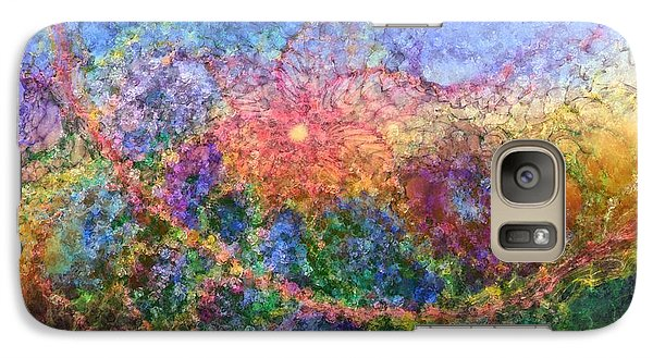 Galaxy Case featuring the digital art Impressionist Dreams 1 by Casey Kotas
