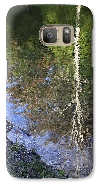 Galaxy Case featuring the photograph Impressionist Reflections by Patrice Zinck