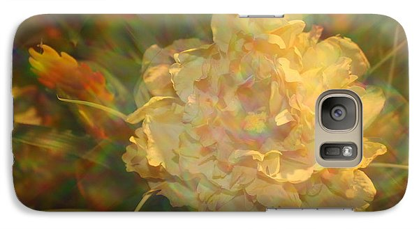 Galaxy Case featuring the photograph Impressionistic Rose by Dora Sofia Caputo Photographic Art and Design