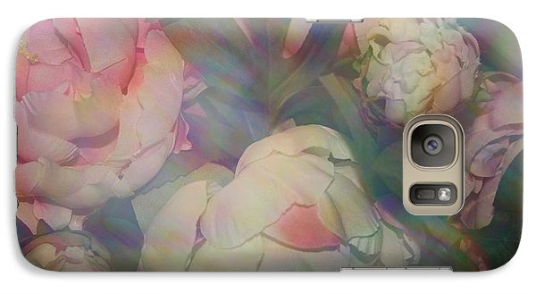 Galaxy Case featuring the photograph Impressionistic Spring Bouquet by Dora Sofia Caputo Photographic Art and Design