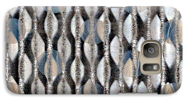 Galaxy Case featuring the digital art Captive Circles by Darla Wood