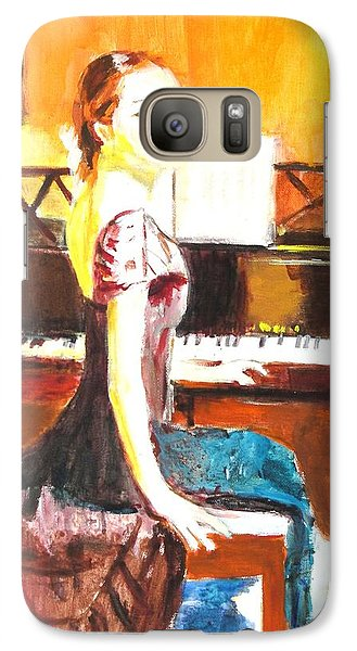 Galaxy Case featuring the painting Impromptu by Judy Kay