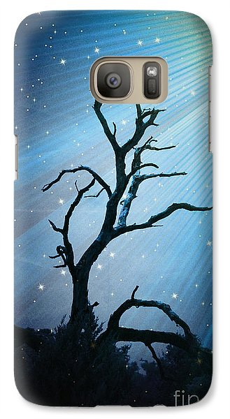Galaxy Case featuring the photograph Imr Light Trail - No.4866 by Joe Finney