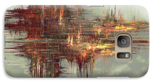 Galaxy Case featuring the digital art In A Flash by Kim Redd
