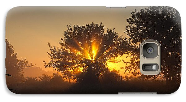 Galaxy Case featuring the photograph In A Silent Way by Everett Houser