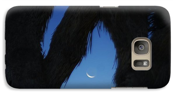 Galaxy Case featuring the photograph In-between by Angela J Wright