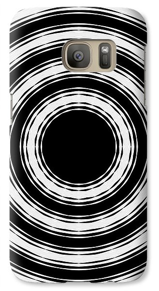 Galaxy Case featuring the painting In Circles by Roz Abellera Art
